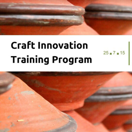 Craft Innovation Training Programme by Team DICRC