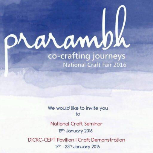 Prarambh: co-crafting journeys- Poster